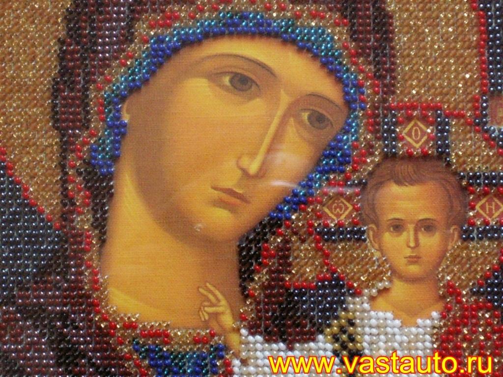 Вышивка икон божией матери 884