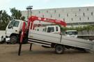 Бортовой автомобиль с КМУ UNIC